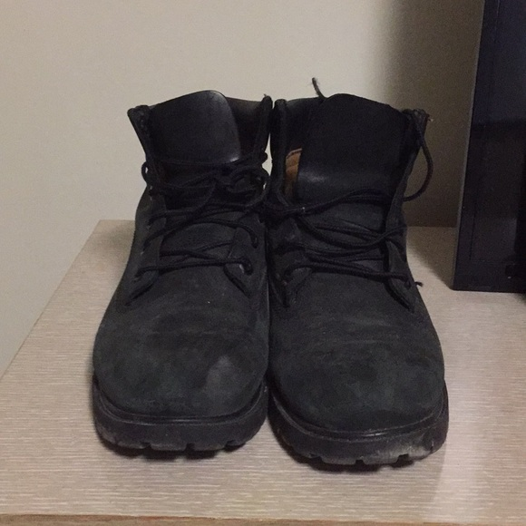 Timberland Shoes | Black Suede S | Poshmark